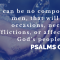 The Psalms…uniquely sufficient