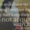 Souls with No Wings to Fly to Christ