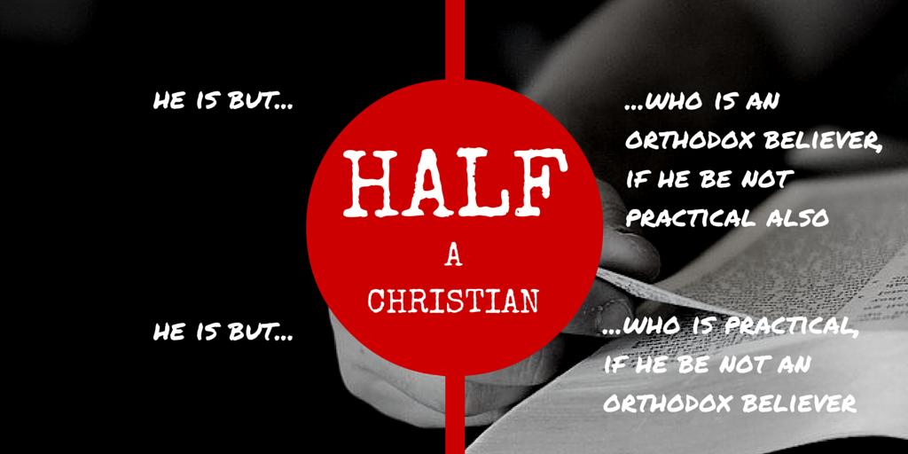 Half a Christian?