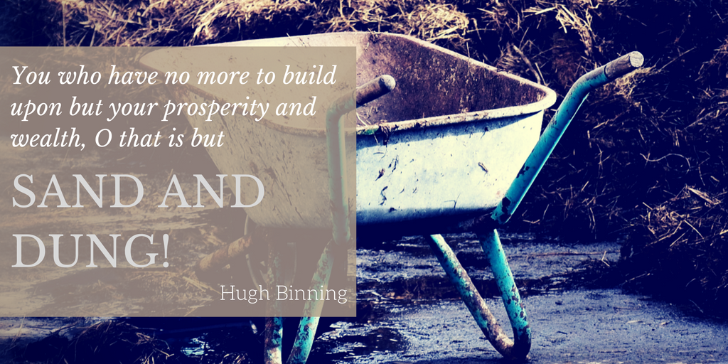 """""""All men are building upon something"""""""