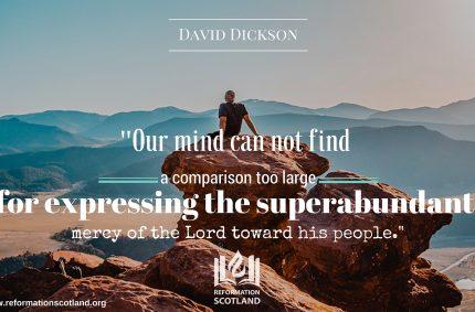 The Superabundant Mercy of God