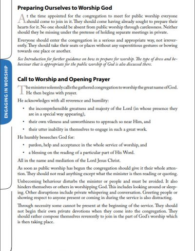 Reformed Worship Booklet page 16