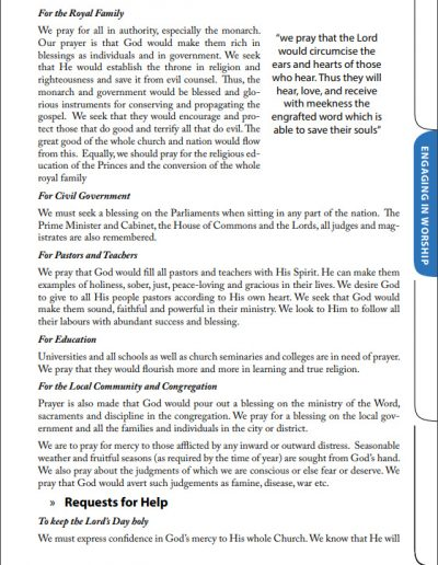 Reformed Worship Booklet page 21