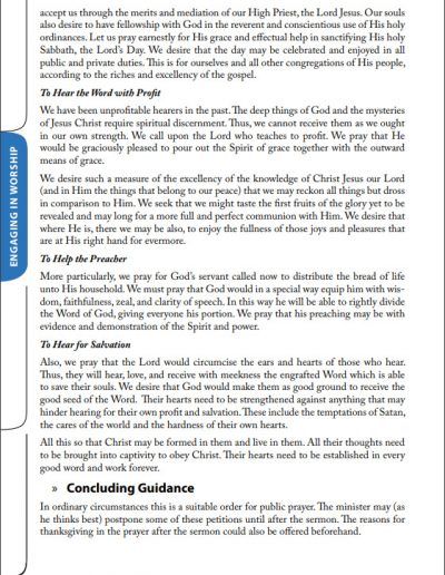Reformed Worship Booklet page 22